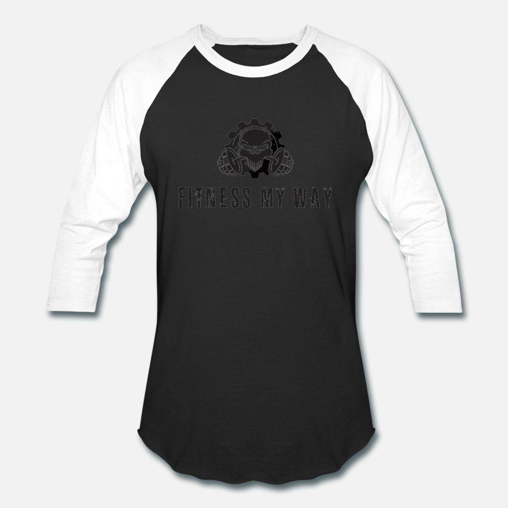 Fitness My Way T-Shirt Männer anpassen Baumwolle mit Rundhalsausschnitt fit Geschenk der neuen Art-Frühlings-Familie Hemd