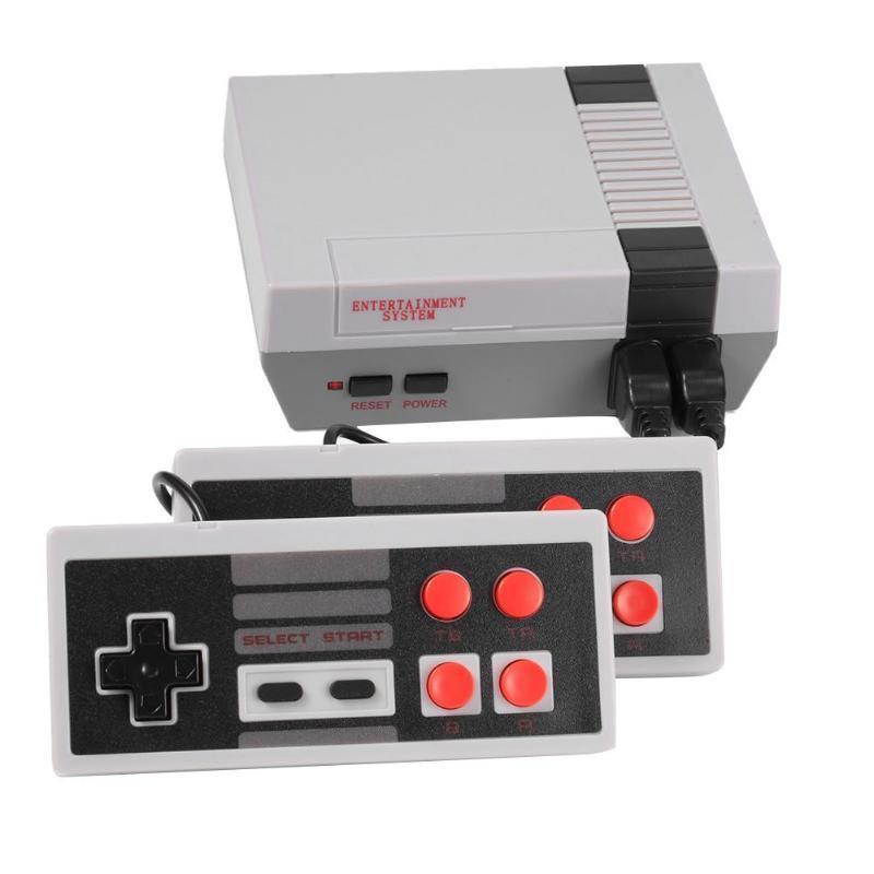 미니 TV 캔 스토어 (620) 500 게임 콘솔 비디오 핸드 헬드를 들어 NES 게임 콘솔 소매 상자 DHL