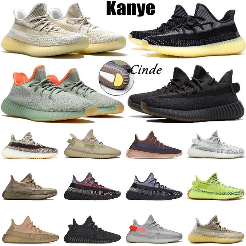 adidas yeezy boost 350 v2 Stock Kanye west X bayan erkek koşu ayakkabıları boyutu 13 Yecher Abez siyah Israfil statik yansıtıcı koşucular Earth Cloud White eğitmenler sneakers