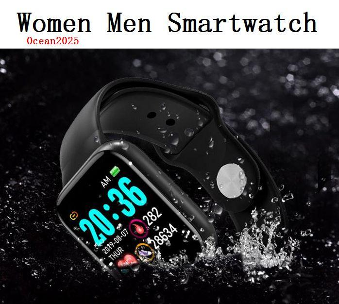Женщины Спорт SmartWatch Мужчины Водонепроницаемый Смарт часы монитор сердечного ритма Android Relogio Фитнес Tracker с Retail Box