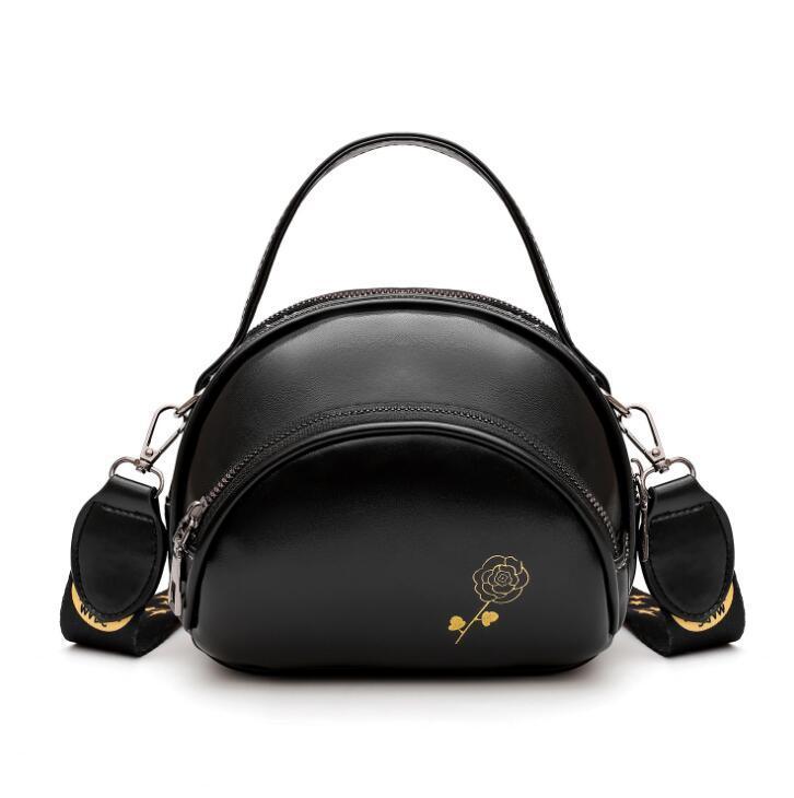 Fashion Girl Mini Schultertasche PU Frauen Umhängetasche Beutel drei Schichten Kleine Handtaschen-Qualitäts-Leder