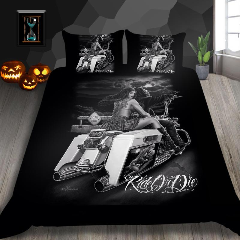 3D Bedding Set Skull Duvet Cover Bed Cover Quilt Cover Pillow Cases Twin Full Queen King Double Super King Size Creative Soft