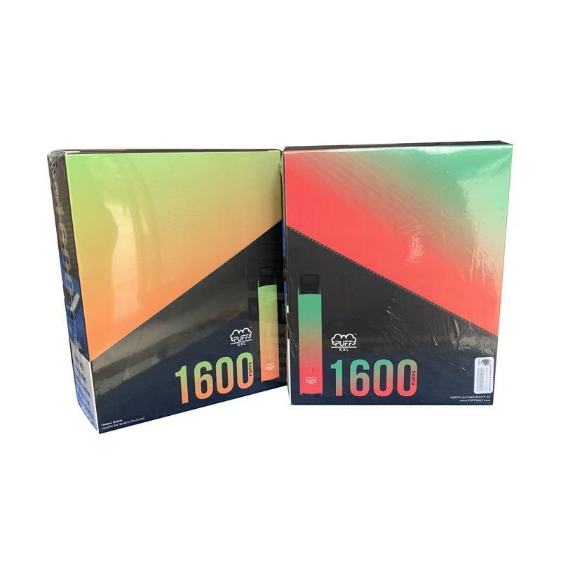 2020 NEW E 담배 스타터 키트 퍼프 XXL 프리 필드 Puffbars 퍼프 흐름 플러스 일회용 장치 포드 키트을 6.5ml 카트리지 1000mAh의 배터리 펜