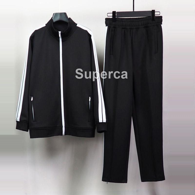 S-XL H8547PA : 20SS 최고 Qaulity 여성 남성 운동복 후드는 편지가 바지 남성 디자이너 운동복 유로 크기로 스포츠 까마귀를 인쇄 정장