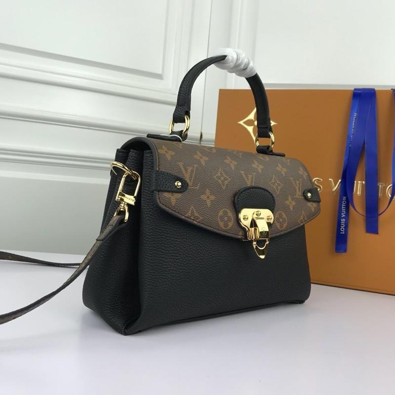 Tasarımcı Lüks Bayan Çantası ile Orijinal Kutusu Omuz Çantaları Messenger Çanta Retro Trend Deri Lady Crossbody Çanta Üst Kol Totes