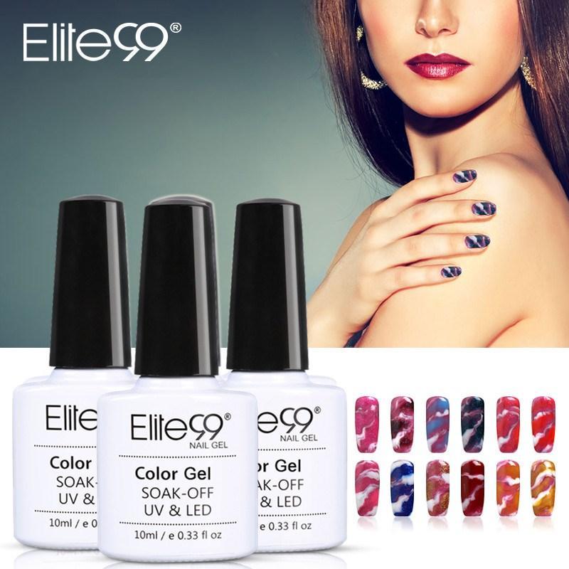 Elite99 10ml Veränderbare Nail Art Gel Polish UV Gel-Lack-Nagellack-Set für Maniküre Gellak Semi Permanent Hybrid Nails Art