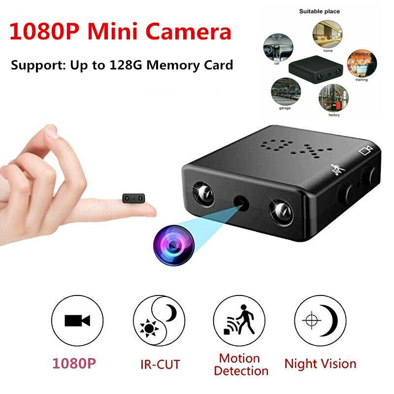 Cameras Mini fotocamera Full HD 1080P Camcorder Night Night Night Micro Movimento Rilevatore Video Voice Recorder IP Wifi