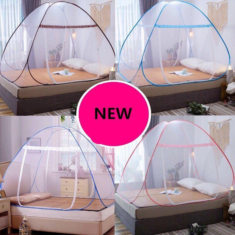 Instalação banda porta Folding prateleira Rede 2020 Bed gratuito Net Incluir Mongólia Mosquito Berth Nets viagens único saco uEnna