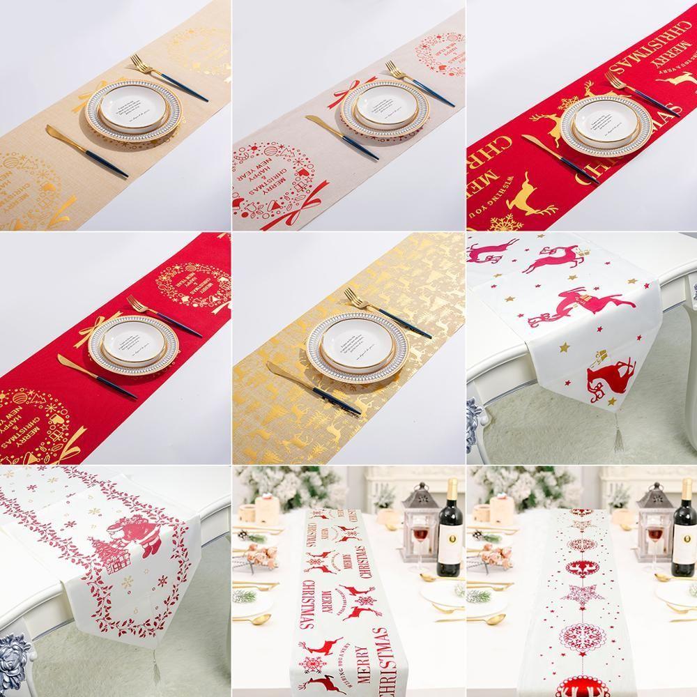 Qifu Inicio decoraciones de mesa de Navidad Feliz Navidad Año De Navidad Decoración 2020 regalos de Navidad 2021 Nuevas feliz para bbybQk