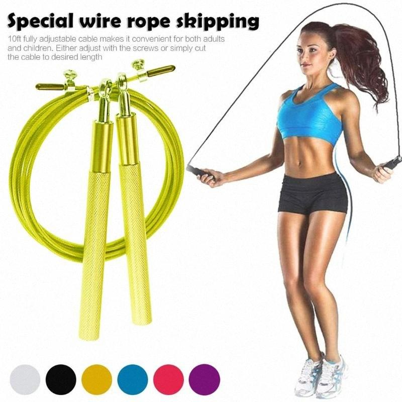 Skipping Rope Jumping Speed weight loss Fitness Exercise Boxing Gym Adult /& Girl