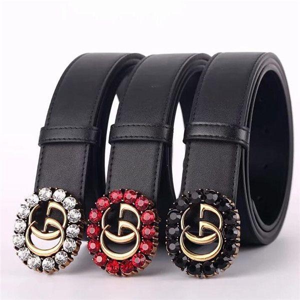 Neue Top-Marke Luxus-Gürtel Diamant Gürtel Designer Gürtel für Männer und Frauen Modedesigner Gürtel