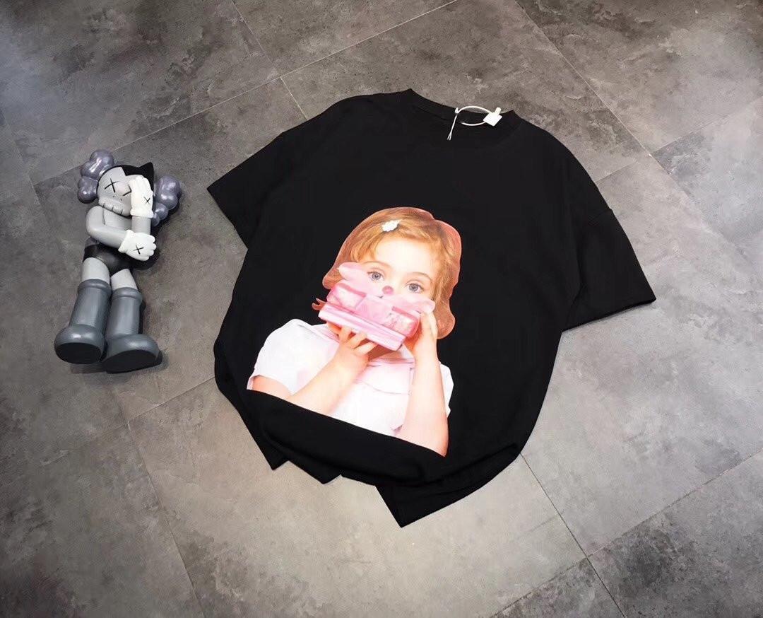 2020 nueva camiseta de la camiseta del regalo de Corea dona más popular chica de regalos alrededor del cuello de 0820