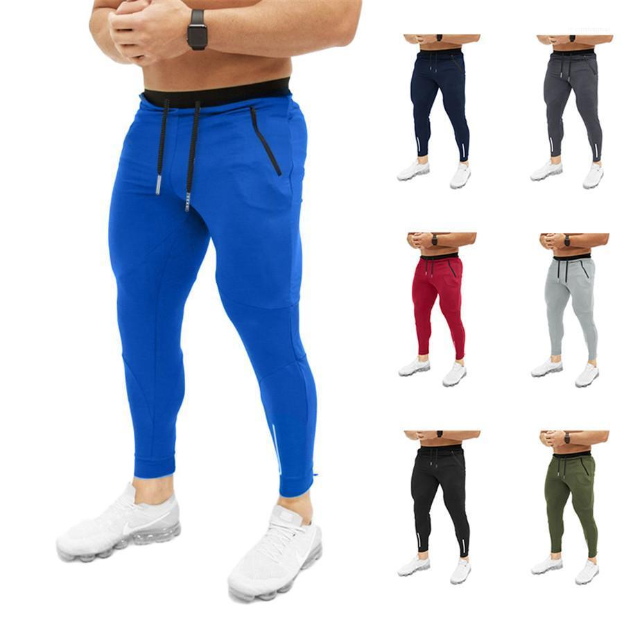 Joggers Pants Athletic Sweatpants Gym Workout Slim Fit With Pockets Men Sport Pants Tracksuit Fitness Male Joggers Designer Men