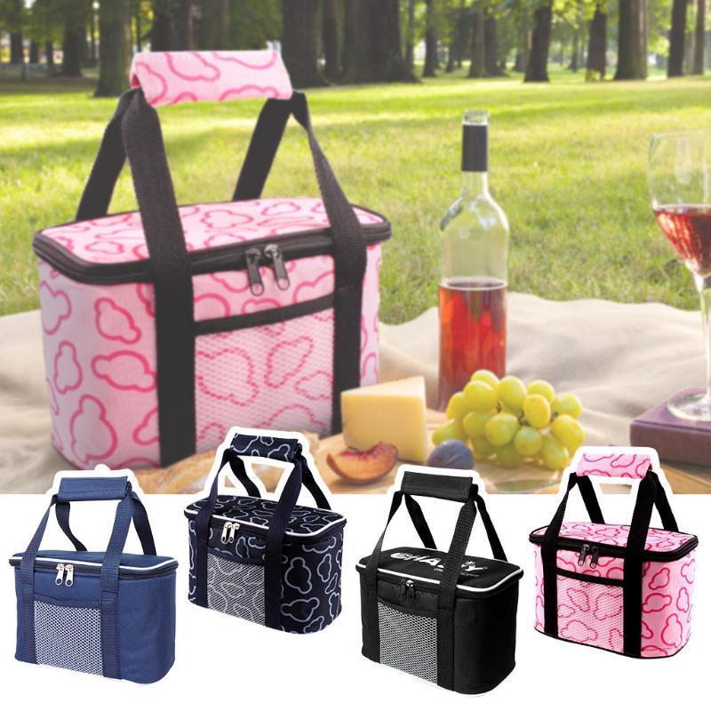 Герметичные многоразовые Изолированная сумка-холодильник обед - Делопроизводство школа пикника Туризм Изолированной Тепловой Cooler Student Lunch Box d1