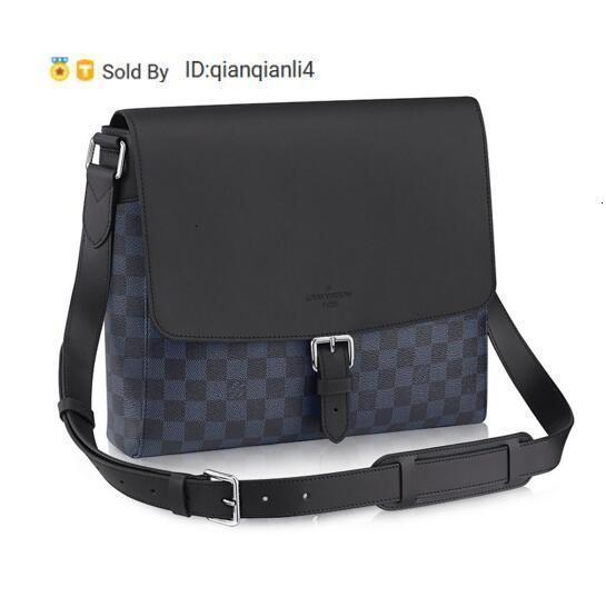 qianqianli4 A09Z PORT MESSENGER MM N41585 CABAS JOUR M42598 Homens Messenger Bags Shoulder Belt Bag Totes Portfolio Pastas Duffle da bagagem