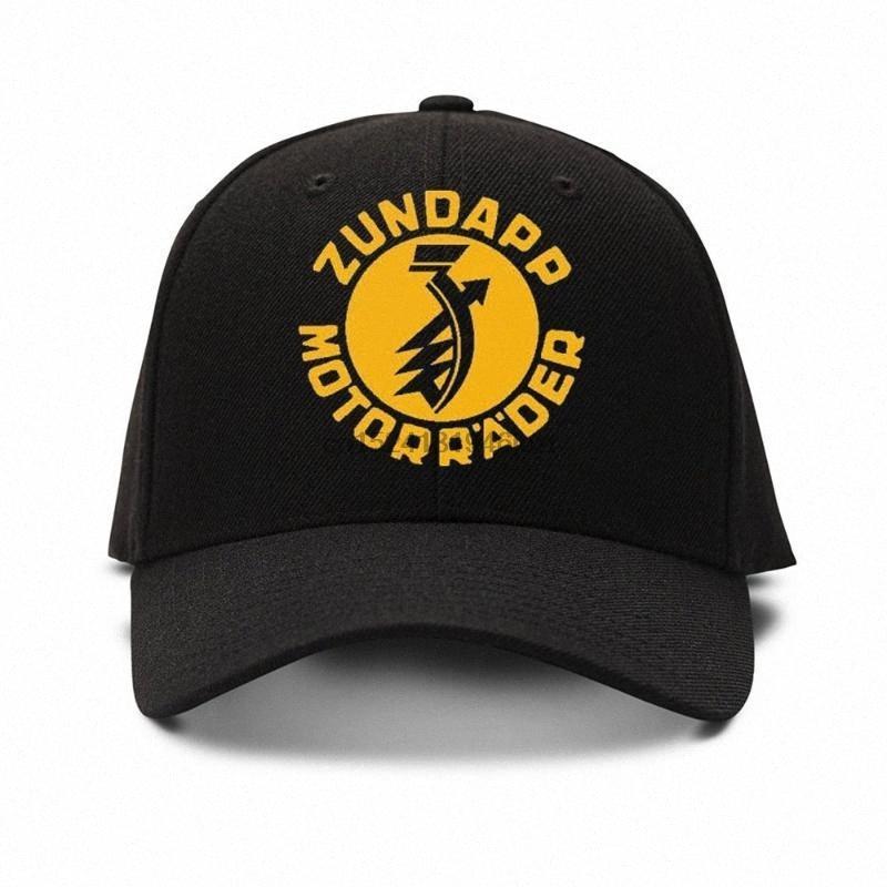 Moda Zundapp Motorraade Nakış Beyzbol Şapka Cap Unisex Spor Dış Mekan Ayarlanabilir Snapback Cap Şapka Hip-hop Soğuk hTpW #