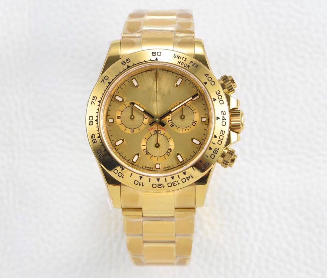 В 2020 году качество диаметром диаметром 40 мм 4130 Движение 904 тонкой стали Водонепроницаемые сапфировые наручные часы