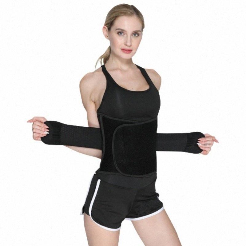 Mulheres cintura Trimmer Belt Perda de peso Faixa de Suor Enrole a gordura da barriga Estômago Sauna Suor Belt Esporte Seguro Acessórios d1RP #