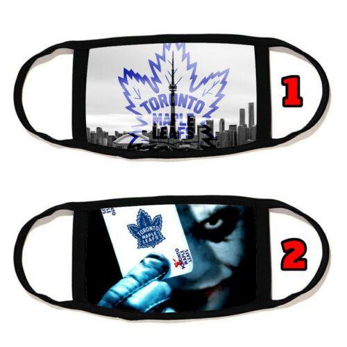 Máscara Toronto Maple Leafs Rosto Algodão material reutilizável lavável Made in US # 14