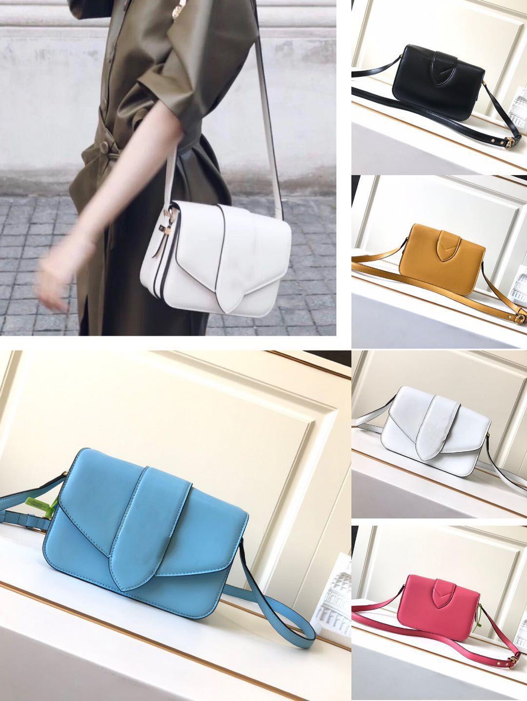 Сумочка То же звездный кошелек Crossbody сумка высокого качества подлинная сумка сумки плечо мода плеча стиль кожа пять цвет MABMV