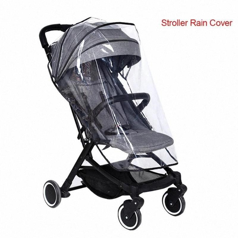 Stroller cobertura impermeável protetor EVA à prova de chuva Buggy Cobertura Universal Para Bebés Carrinhos ZkAY #