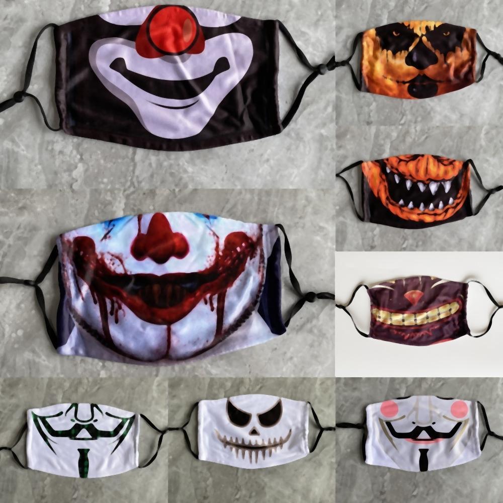KLNkC realistiche maschere di zucca in lattice Donald Trump mascherina della sfera di Halloween pagliaccio Presidente Cosplay resistente alla polvere Trump Celebrity Roar Spoof partito costu