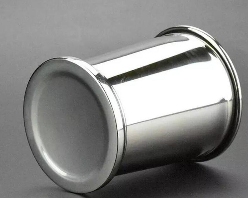 350 ml inoxidável Light Steel Mojito Mint Julep canecas Três Cores Sessile Hetero Copa bom copo Good Feeling