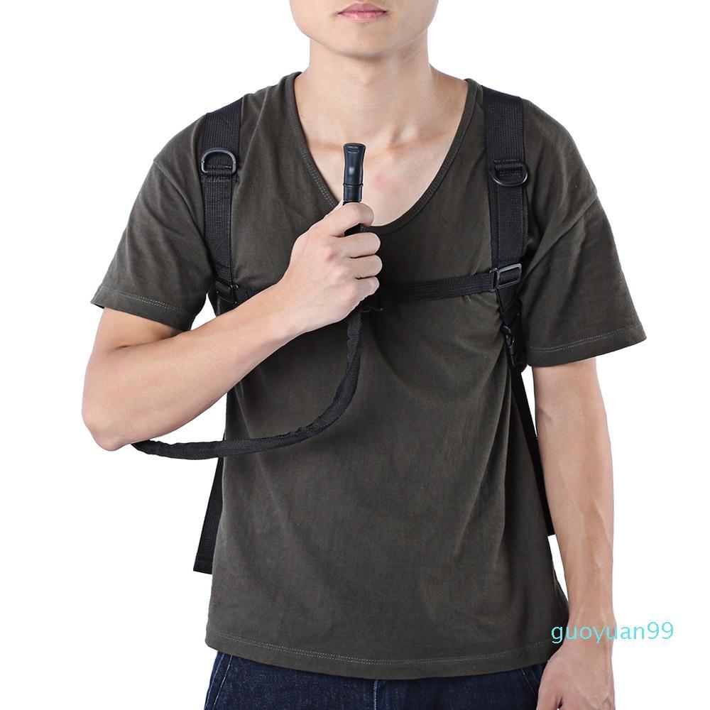 Bolsa de cantina de água Beber cor com mangueira saco + b sacos de água New-Bag utilitário com 7 mochila mochila tcelm