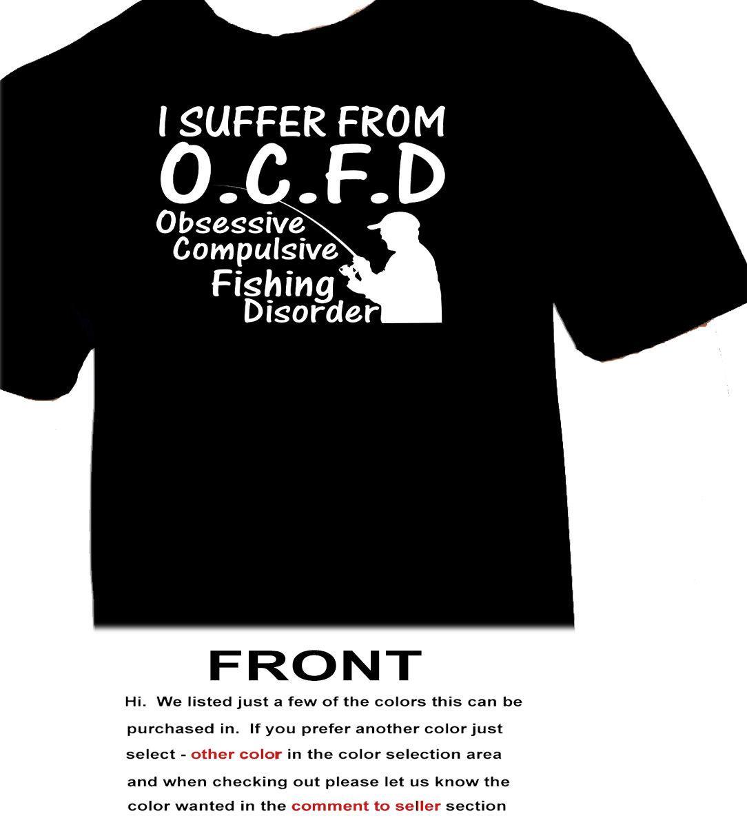 2019 Envio Summer Fashion Eu sofro de OCFD - Fishings - ao ar livre Verão Homens Roupa