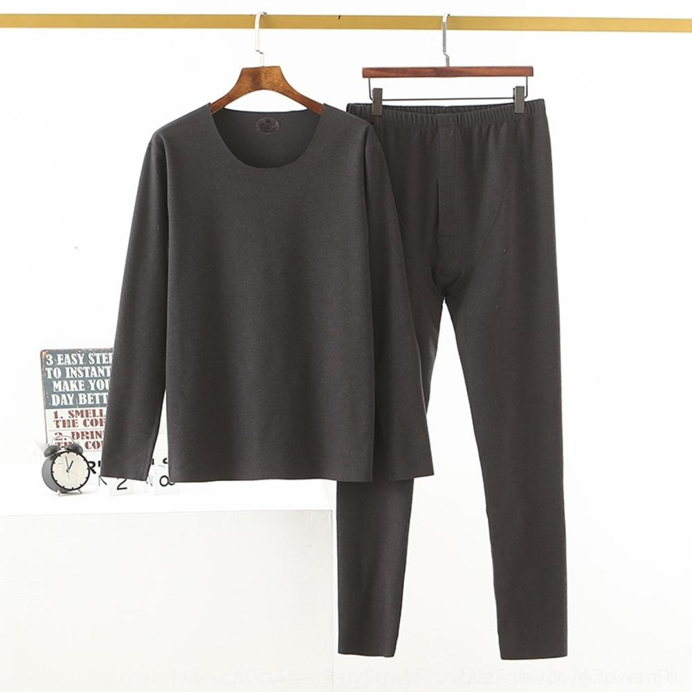 kagGp Xzg1D 20 adultos roupas auto-aquecimento doméstico clothesGerman traceless Quente casa de veludo roupas de outono outono calça casual em torno do pescoço cortar o