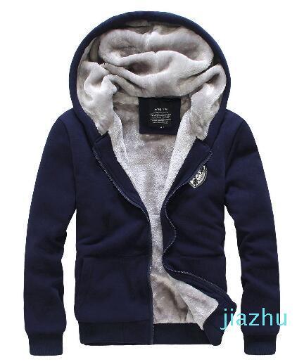 Hot Sale New Winter Men Sweat Suits Fleece Warm Mens Tracksuit Set Casual Sportwear Suits Jacket Pants and Sweatshirt Set Plus size 3XL