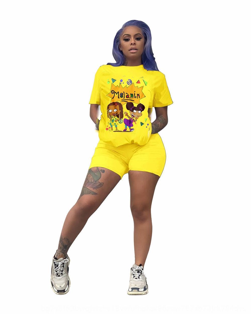 2020 desenho animado ocasional 2020 moda terno de banda desenhada de moda terno mulheres mulheres casuais 8EhfN