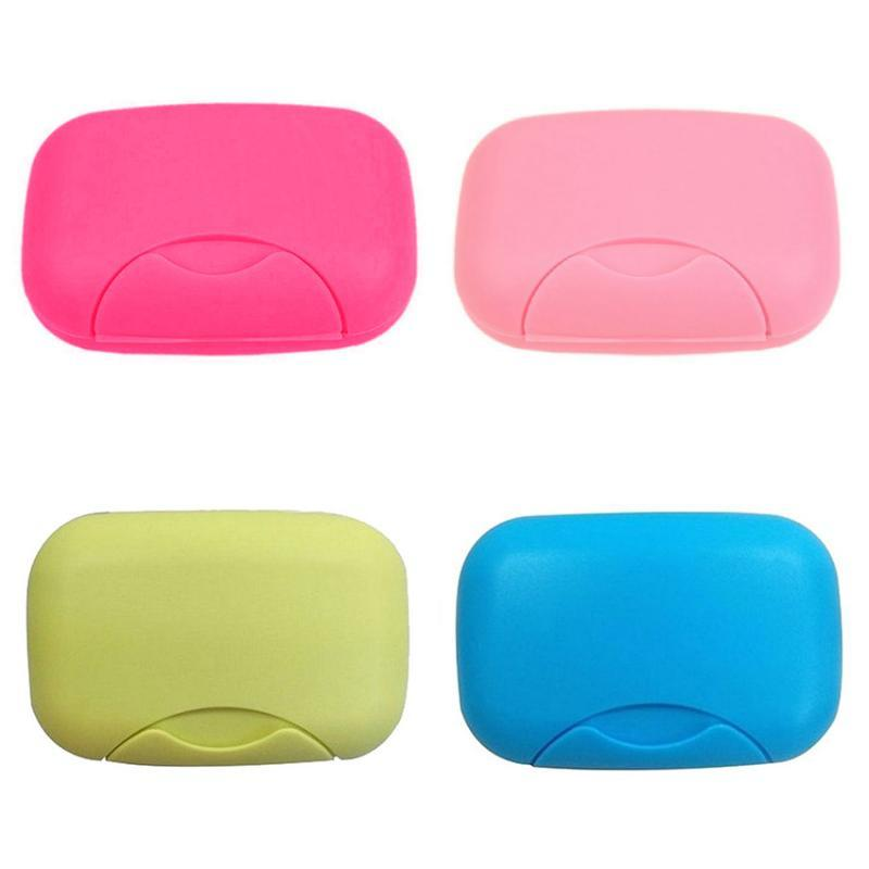 2020 NEW Protable Travel Dish Holder Storage Container Shower Soap Dishes Bathroom Accessories Big Containers Box