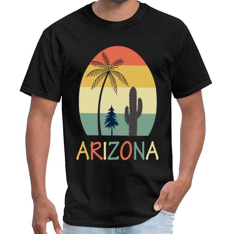 Personalizado de la vendimia de Arizona de la camisa de los hombres xxxtentacion Travis camiseta de gran tamaño lema s ~ 6XL