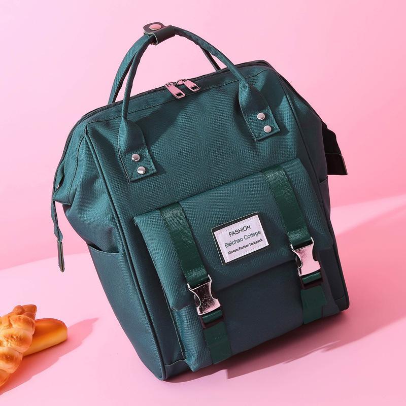 Panno di Oxford di modo delle donne Zaini Nuovo sacchetto di scuola Adolescente Big Backbag Mochilas femminile Bagpack di viaggio per i Baby Care Zaino