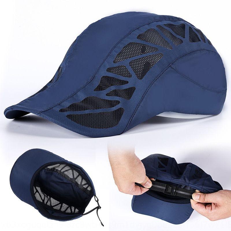 j6IND Estate lingua cap Beret nuovo ad asciugatura rapida anatra maglia cappello da sole respirabile di svago delle donne all'aperto Beret cappello in avanti per gli uomini