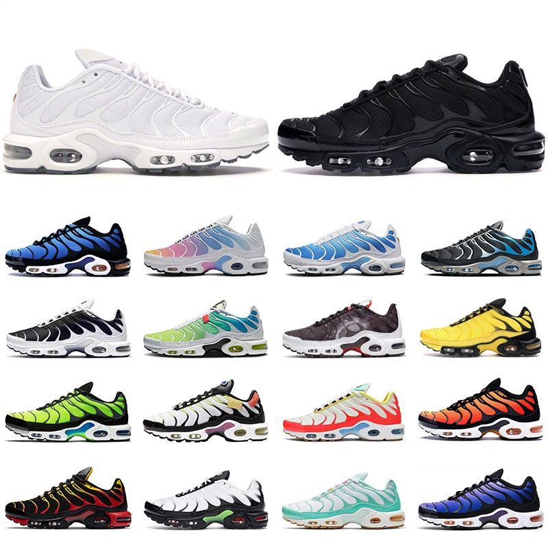 2020 TN air max plus se shoes hommes femmes des chaussures de course formateurs triple noir blanc Hyper Royal Blue Oreo Brushstroke Camo hommes baskets de sport en plein air