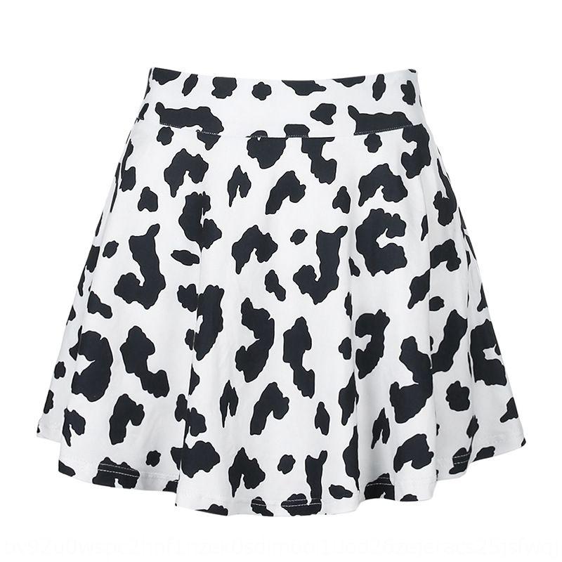 H5nbI tKAYG Qun лето новых Ся джи высокой коровы юбка талия мода 2020 мода юбка улица все-матч