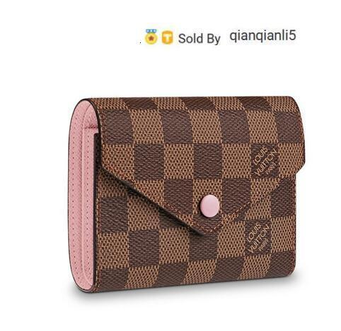 qianqianli5 QTEH WALLET N61700 NEW WOMEN FASHION SHOWS EXOTIC LEATHER BAGS ICONIC BAGS CLUTCHES EVENING CHAIN WALLETS PURSE