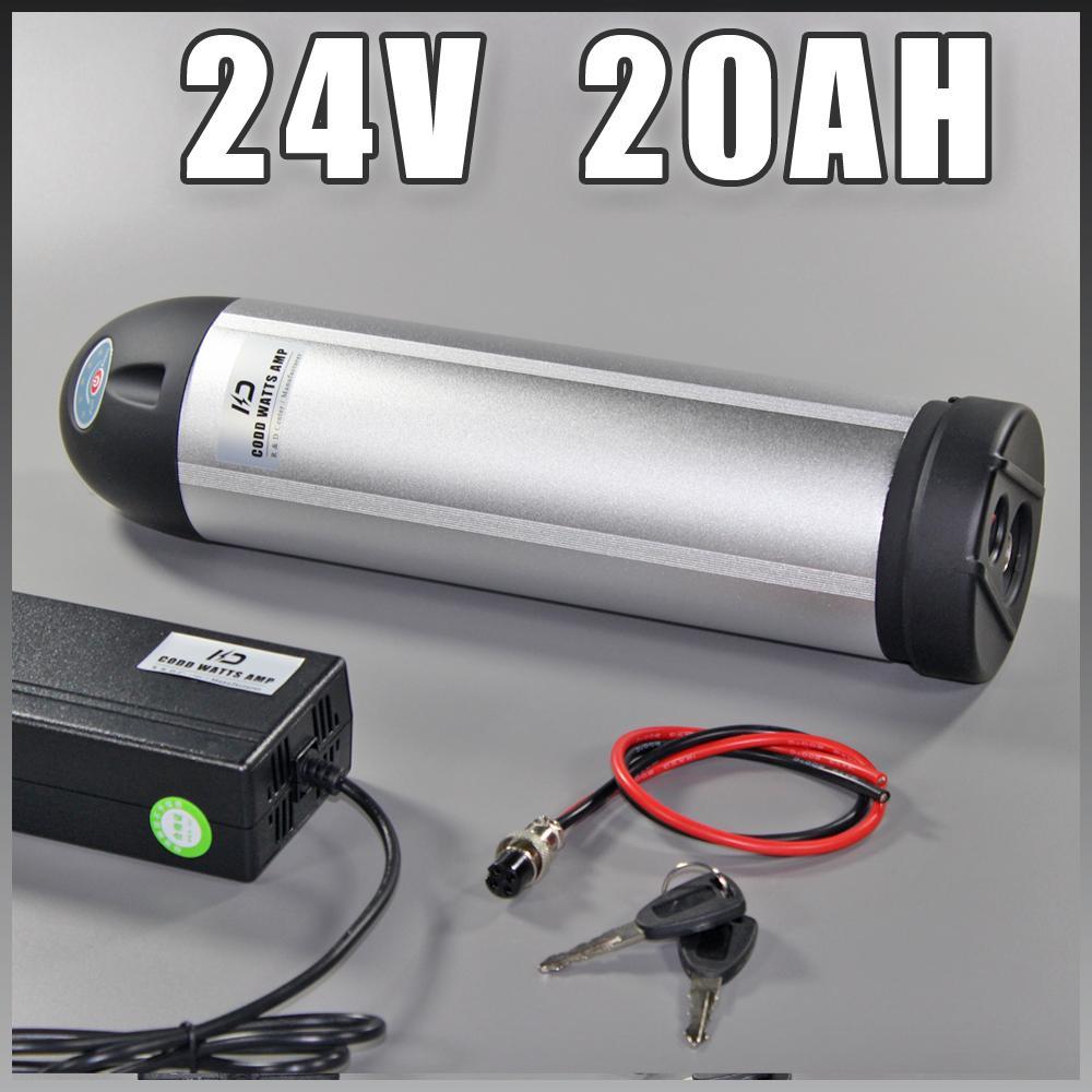 24v 20Ah e moto batteria della bottiglia di acqua bicicletta elettrica al litio della batteria