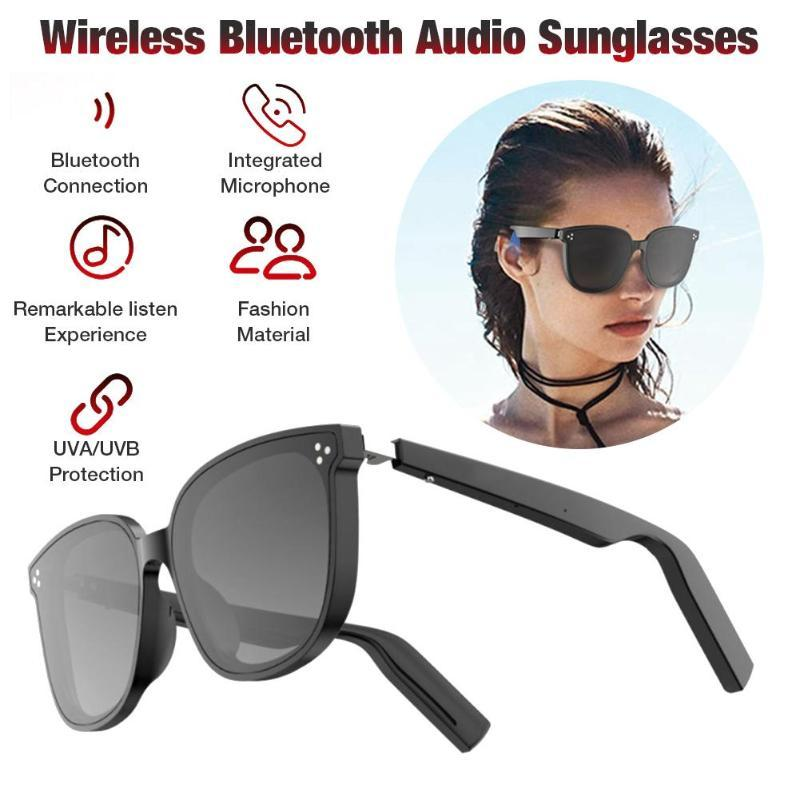 Occhiali da sole audio Bluetooth wireless Occhiali da sole Musica IP67 Occhiali Smart Occhiali aperti impermeabili per gli uomini Donne