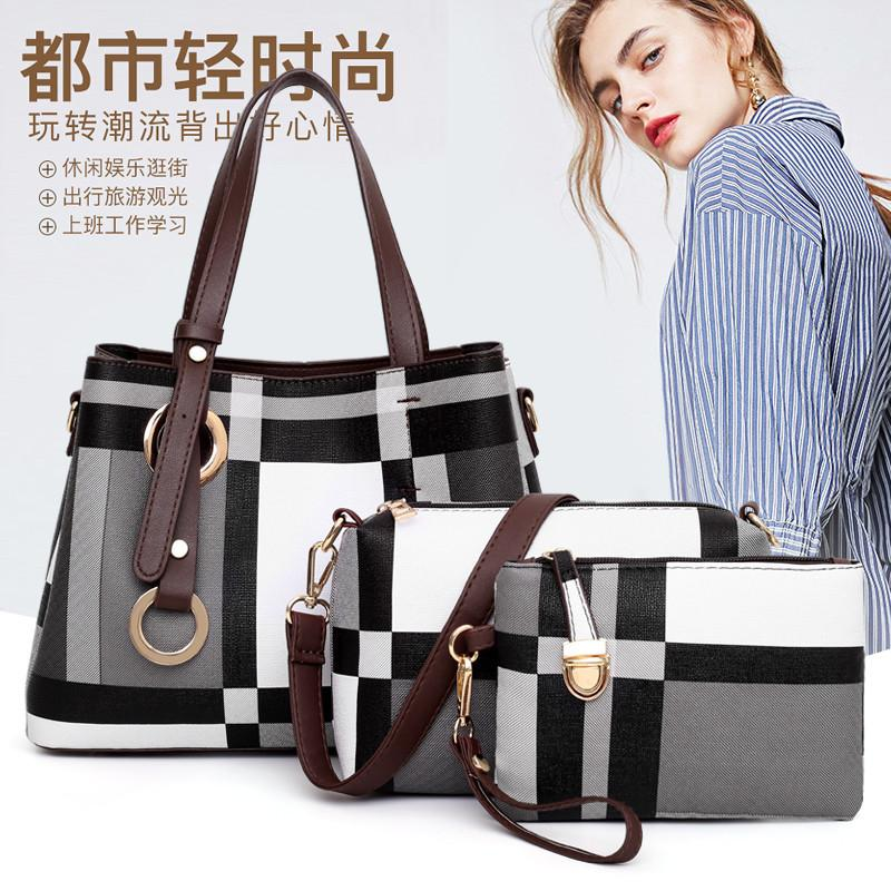 Fashion Bag Womens 2020 New Style All-match Large Capacity Different Size Bags Simple Messenger Bag Womens Shoulder Bag Fashion