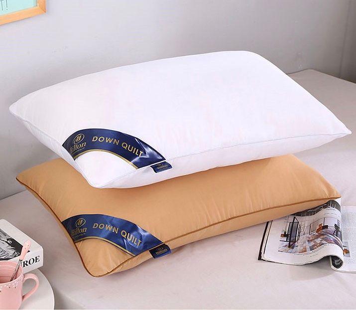 Élégantes oreillers souples 48cm * 74cm Ménages Hôtels Motel Appartement de haute qualité et haut de gamme Couleurs Diverses Couleurs Hieights Confortable Coton Fabriquée