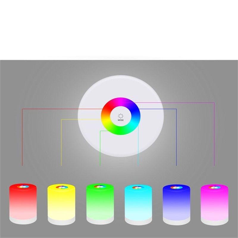 Chargeing Archlight 주도 데스크 램프 디밍를 터치 컨트롤 나이트 라이트 독서 Lamparas 전기 침대 옆 거실 홈 Docor 31tj C2