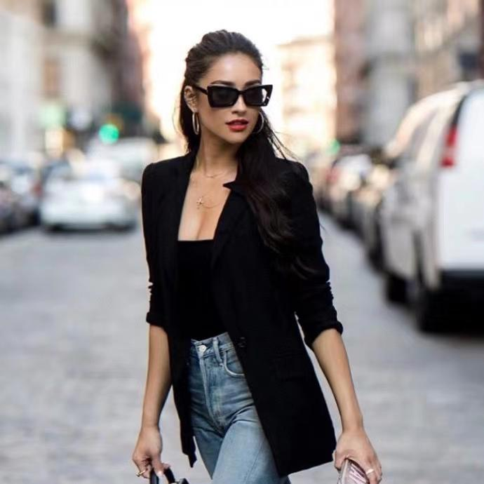 Shades Солнцезащитные очки Occhiali Дамы Д.М. Очки Серый кот С подошве Глаз Блок с LSEBG Солнцезащитные очки Мода Black Obpaj