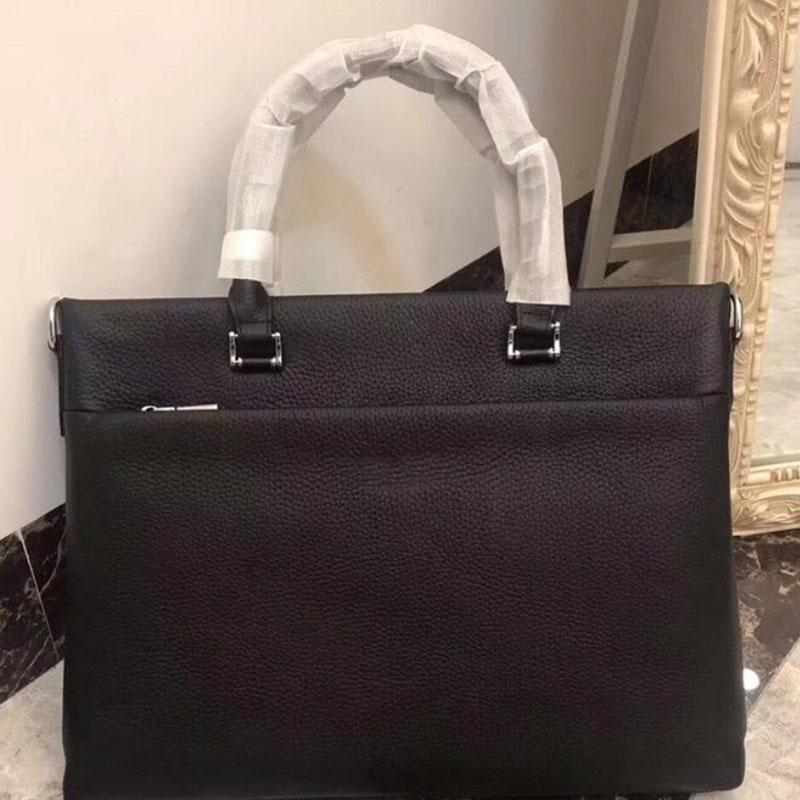 diseñador maletín de diseño de lujo de producción de cuero del hombre de la moda clásica super gran espacio, concisa de gama alta y generoso número: 8115-1