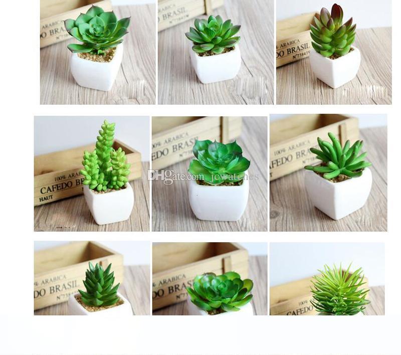 Impianto arredi verde artificiale con falso Vaso di fiori della pianta di giardino decorazione del fiore artificiale Ufficio decorazione domestica