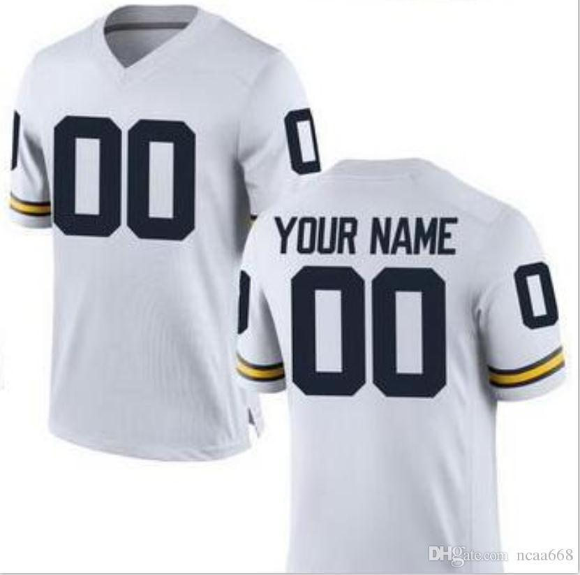 CUSTOM Mens,Youth,women,toddler, Michigan Wolverines Personalized ANY NAME AND NUMBER ANY SIZE Stitched Top Quality College jersey