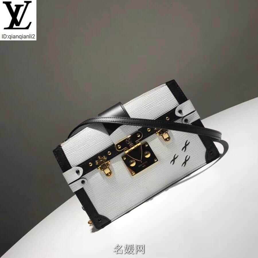 qianqianli2 0C14 Nueva tronco del embrague del bolso / bolsos de embrague bolsa caso M52151 BOLSOS maneja la parte superior BOLSOS TOTALIZADORES DE LA TARDE CRUZ cuerpo de la bolsa