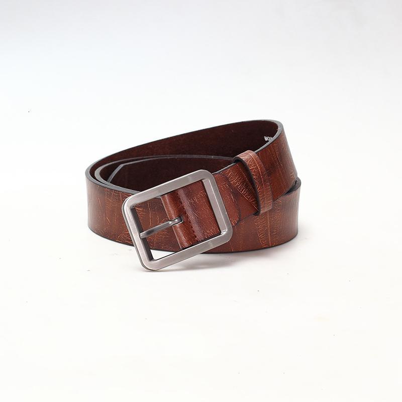 1pcs Students Simple Men's New Pin Buckles Male Imitation Leather Fashion Vintage Leisure Jeans Belt